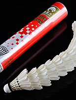 1 PCS Exercise & Fitness Shuttlecocks Wearproof Durable for Goose Feather