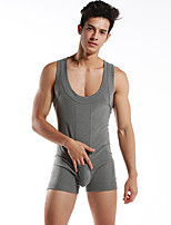 Men's Sleeveless Running Tracksuit Breathable Sweat-wicking Comfortable Summer Sports Wear Yoga Exercise & Fitness Leisure Sports Running