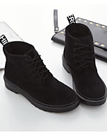 Women's Boots Light Up Shoes Customized Materials Office & Career Casual Black