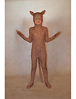Spandex Tiger Kids Costume Cosplay Zentai  Leopard Bodysuit Unitard Body Suit Stretch Lycra Full Body Animal Costumes