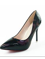 Frauen Fersen leuchten Schuhe pu Hochzeit Büro&Karriere Party&Abend armee grün hell lila dunkelblau