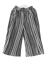 Girls' Casual/Daily Striped Pants Summer