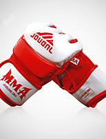 Боксерские перчатки Тренировочные боксерские перчатки для Бокс Без пальцев Ударопрочность Износостойкий Защитный PUПерчатки