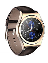 Reloj elegante androide del androide del smartwatch de los hombres yy x10 monitor iqi de la frecuencia cardíaca de los gps de la ayuda con