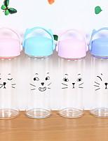 Desenho Exterior Artigos para Bebida, 301-400 ml Portátil Vidro Água Garrafas de Água