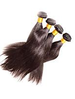 Beautysister Hair 4Bundles 400g lot Peruvian Straight Human Hair Sale 8A Grade 100% Unprocessed Virgin Hair Weaving Natural Black Color Last Long Time