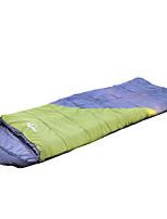 Schlafsack-Liner Rechteckiger Schlafsack Einzelbett(150 x 200 cm) 0-14 Hohlbaumwolle Polyester77 Wandern Camping Reisen Transportabel