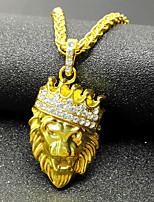 Жен. Ожерелья с подвесками Базовый дизайн Золотой Бижутерия Для Повседневные 1шт