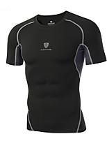 Plus Size 3XL Men's Fashion Cotton T-Shirts Short Sleeve Quick Dry Round Neck Shirts