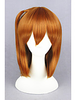 Short Love Live!-Kousaka Honoka Orange Synthetic 16inch Anime Cosplay Wig CS-181B