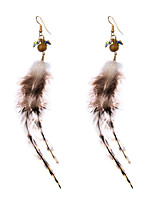 lureme® Drop Earrings Jewelry Unique Design Dangling Style Tassels Movie Jewelry Fashion Adjustable Stretch Feather AlloyGeometric Wings /