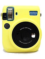 Etuis-Une épaule-Appareil photo numérique-Fujifilm--Jaune Noir Incanardin Bleu