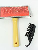 New hot selling high quality Wood pet dog comb Round Needle With points Practical beauty pet brush Give a small comb
