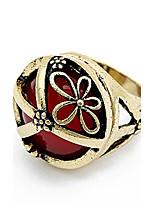 Bandringe Ring Imitation RubinBasis Einzigartiges Design Logo Stil Freundschaft Euramerican Zum Selbermachen Erste Schmuck Viktorianisch