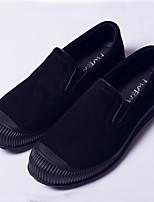 -Для мужчин-Повседневный-Замша-На плоской подошве-Удобная обувь-Мокасины и Свитер