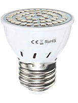 2W GU10 GU5.3(MR16) E27 LED Grow Lights MR16 54 SMD 2835 300 lm Red Blue AC110 AC220 V 1 pcs