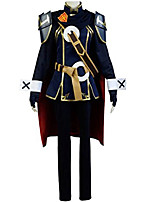 Inspired by Fire Emblem Cosplay Anime Cosplay Costumes Cosplay Suits Patchwork Tops Coat Pants Gloves Belt Cloak More Accessories ForMale
