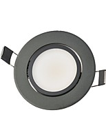 3W LED Downlights Recessed Retrofit 1 COB 250 lm Warm White Cool White Natural White Decorative AC85-265 V 1 pcs