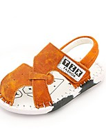 Boys' Sandals Summer First Walkers Pigskin Casual Flat Heel