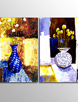 Canvas Print Abstract Modern VaseTwo Panels Canvas Horizontal Print Wall Decor For Home Decoration