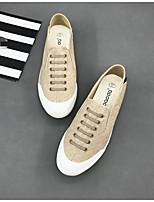 Loafers masculinos&Slip-ons primavera conforto lona casual