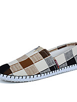 Men's Loafers & Slip-Ons Spring Summer Comfort Light Soles Fabric Outdoor Casual Flat Heel Walking Shoes