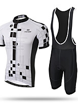 XINTOWN® Men's Team Cycling Bike Jersey and Bib 3D Padded Shorts set Sports Clothing MTB