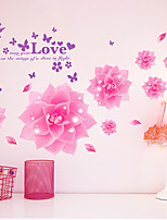 Romance De moda Pegatinas de pared Calcomanías de Aviones para Pared Calcomanías Decorativas de Pared,Vinilo Material Decoración hogareña