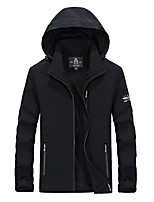 Men's Jacket Waterproof Breathable Windproof Wearable Spring Gray Black Blue Army Green