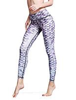 Pantalon de yoga Leggings Collants Respirable Séchage rapide Taille moyenne Haute élasticité Vêtements de sport FemmeYoga Pilates