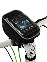 Cyklistická taška 1.2LBrašna na řídítka Voděodolný zip Odolný proti vlhkosti Odolné vůči šokům Nositelný Taška na kolo Polyester PVCTaška