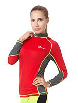 Sports Women's Men's Dive Skins Breathable Quick Dry Ultraviolet Resistant LYCRA® Diving Suit Long Sleeve Diving Suits-DivingSummer