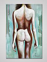 Estampados de Lonas Esticada Transparente Estilo Europeu,1 Painel Tela Vertical Impressão artística Decoração de Parede For Decoração