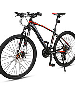 Mountain Bike Cycling 27 Speed 26 Inch/700CC Double Disc Brake Suspension Fork Aluminium Alloy Frame Ordinary/Standard Anti-slipAluminium