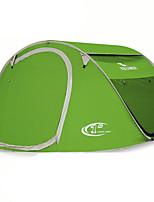 3-4 persons Tent Single Automatic Tent One Room Camping Tent 1500-2000 mm FiberglassMoistureproof/Moisture Permeability Waterproof