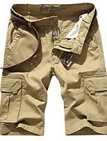 Homme Pantalon/Surpantalon Camping / Randonnée Respirable Eté Vert de Trèfle Kaki Bleu royal