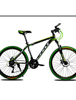 Горный велосипед Велоспорт 21 Скорость 26 дюймы/700CC SHIMANO TZ-30 Двойной дисковый тормоз Передняя вилка с амортизациейРама из