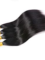 Tissages de cheveux humains Cheveux Péruviens Droit 12 mois 4 Pièces tissages de cheveux