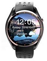 Femme homme lemfo android smartwatch iqi i3 support 3g wifi gps moniteur de fréquence cardiaque avec affichage aminé de 1,39 pouce 512mb