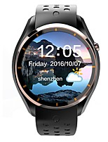 Lemfo мужская женщина android smartwatch iqi i3 поддержка 3g wifi gps монитор сердечного ритма с 1.39 дюймовым дисплеем amoled 512mb ram