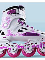 Damen Herrn Unisex Inline-Skates tragbar Wasserdicht Komfortabel Blau/Weiß/Purpur