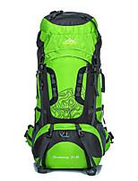 Men Sports & Leisure Bag Nylon All Seasons Sports Camping & Hiking Climbing Outdoor Professioanl Use Zipper Green
