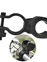Universal Road Bike Lamp Plastic Clip Bicycle Light Holder Rack Flashlight Holder 360 Degree Rotation Cycling Clip Lamp Holder Mount