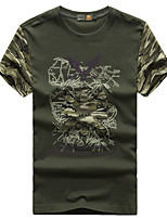 Men's T-shirt Fishing Breathable Quick Dry Summer