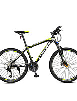 Mountain Bike Cycling 27 Speed 26 Inch/700CC MICROSHIFT Double Disc Brake Suspension Fork Aluminium Alloy Frame Hard-tail FrameAnti-slip