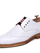 Men's Oxfords Spring Summer Formal Shoes  Bullock shoes Patent Leather Wedding  Party & Evening Shoes
