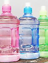 2Pcs Plastic Portable Motion Kettle Water Bottle 500ml