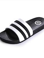 Women's Slippers & Flip-Flops Summer Slingback Rubber Casual Flat Heel Green Black