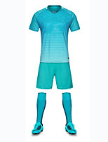 Unisex Soccer Clothing Sets/Suits Breathable Wearable Comfortable Spring Summer Fall/Autumn Solid Football/Soccer
