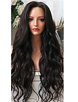 Beauty Water Wave 360 Lace Frontal Wigs with Baby Hair Top 250% Density Brazilian 360 Lace Wigs Virgin Human Hair with Bleached Knots Natural Hairline